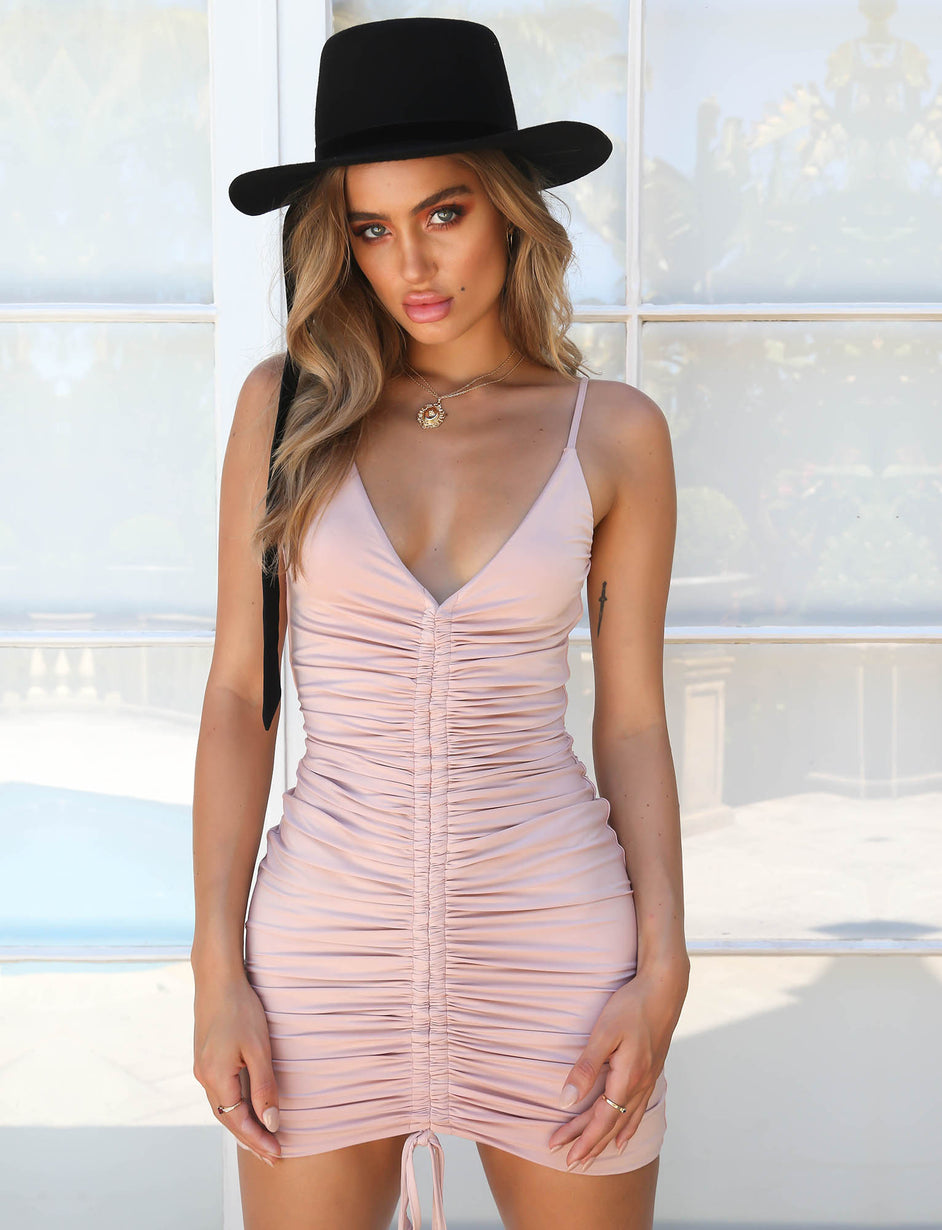 Sasha Dress - Blush