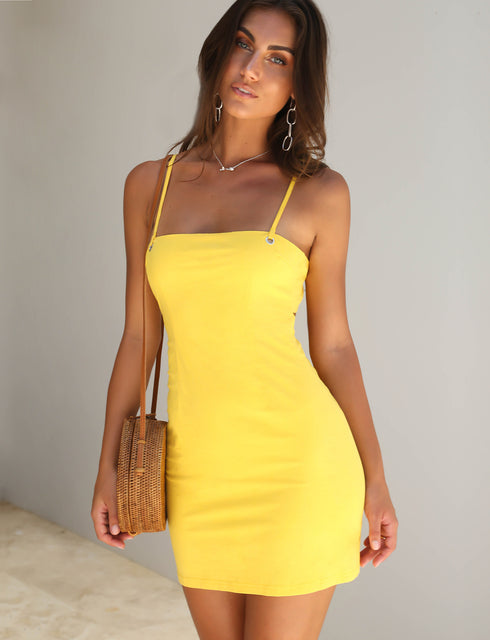 Soda Dress - Yellow