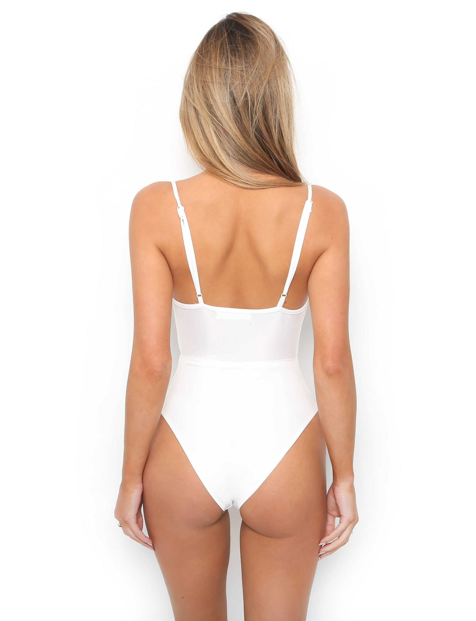 Pretty Thing One Piece - White