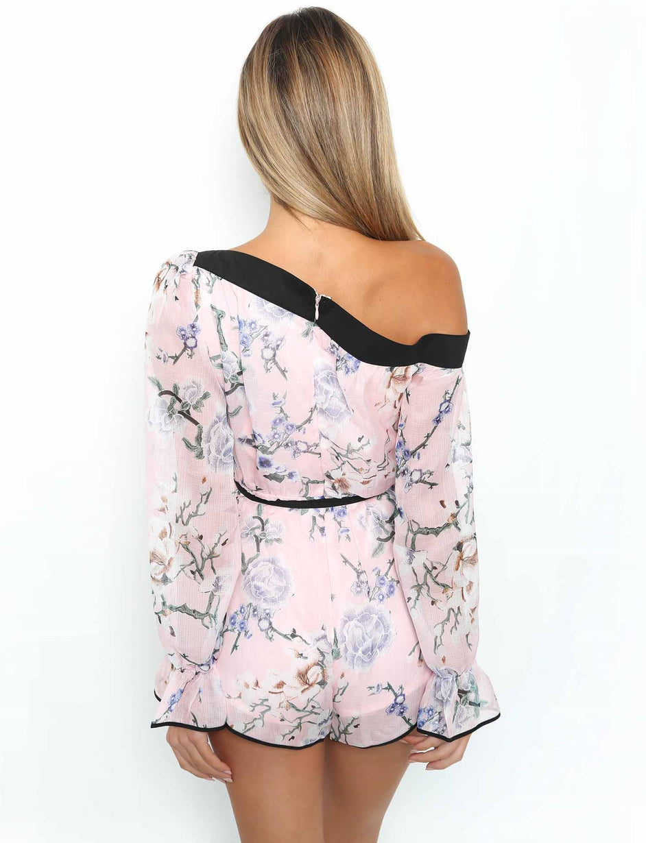 Alice Playsuit - Blush Floral