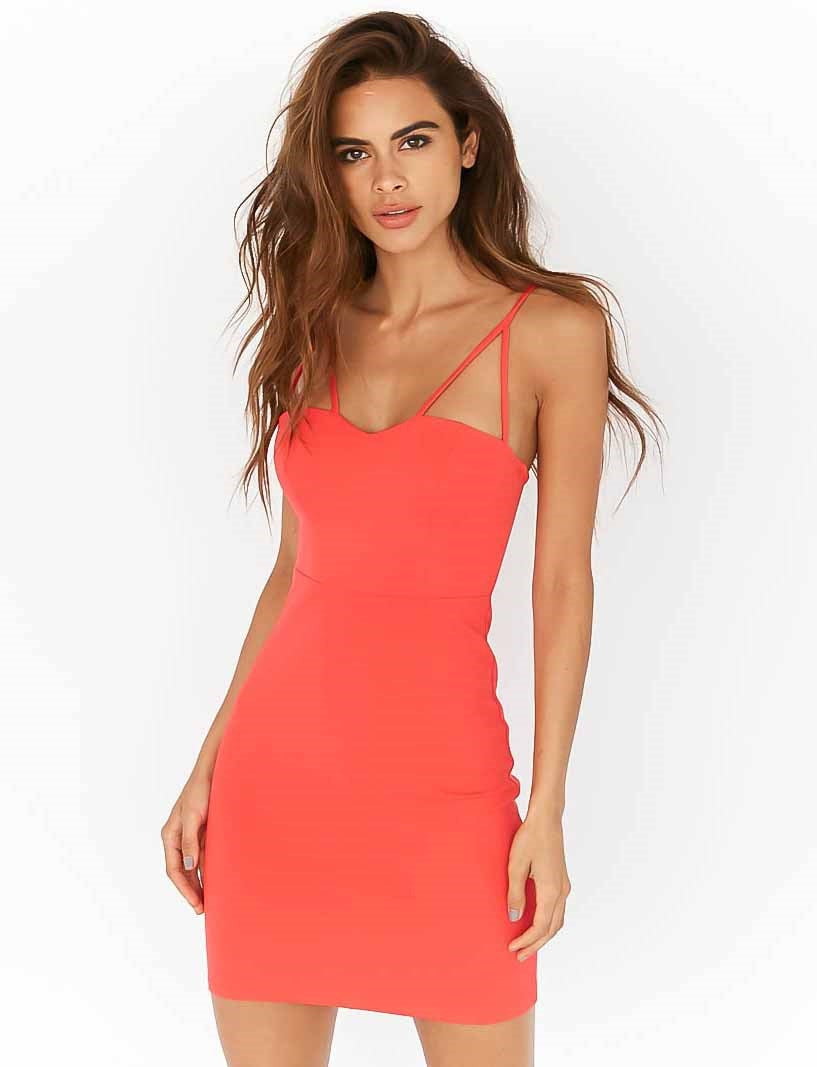 Heart To Heart Dress - Red