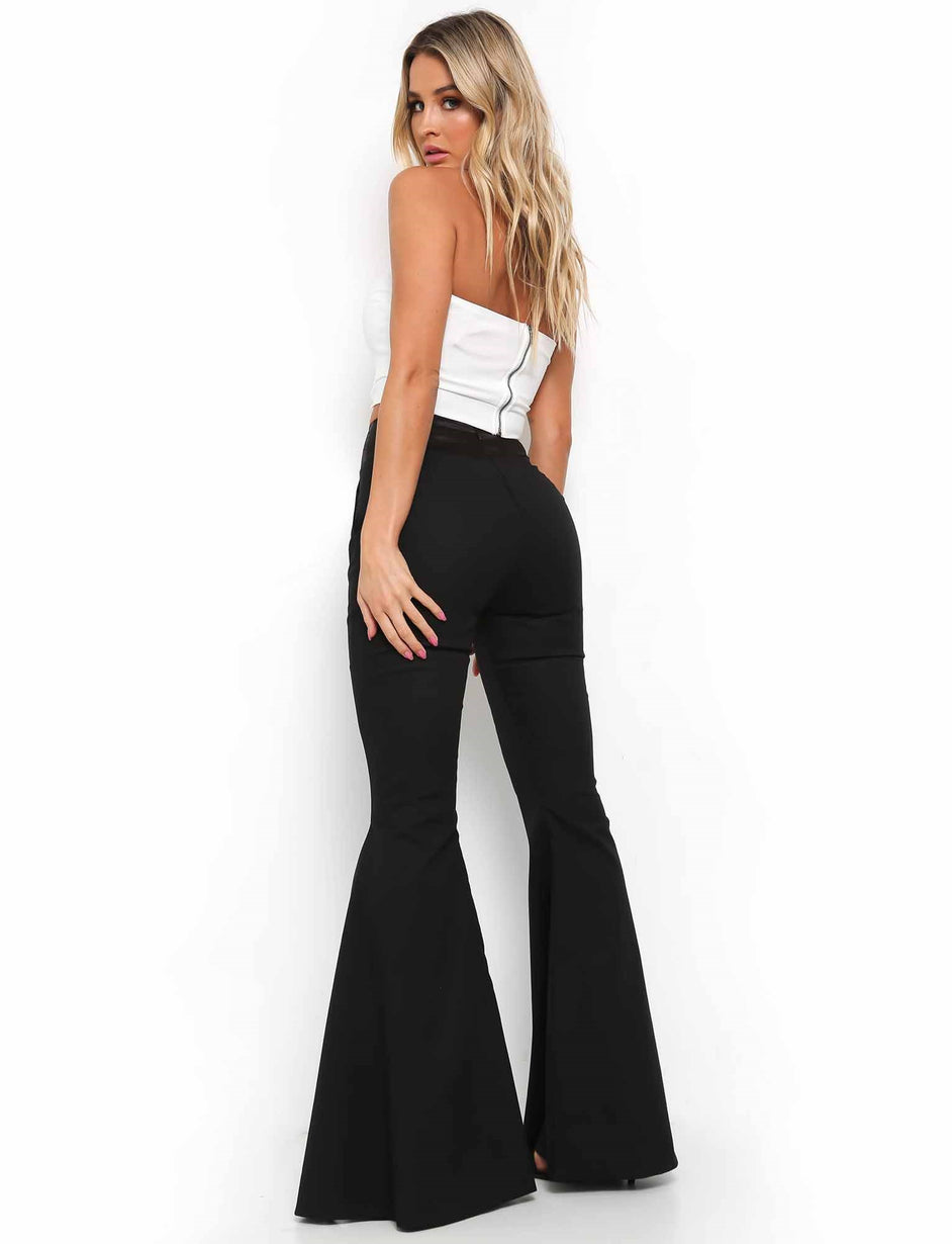 Dion Flare Pant - Black