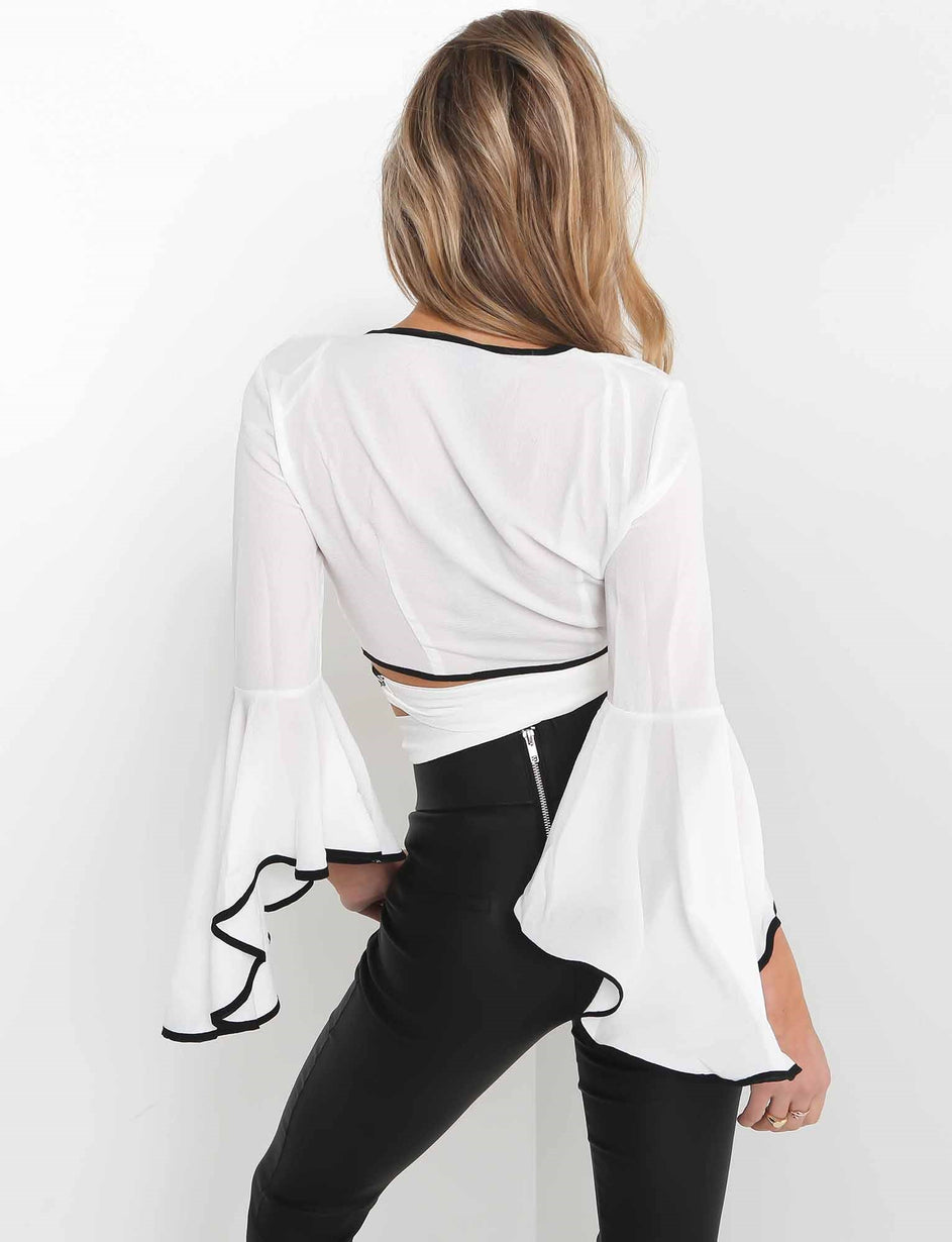 Senorita Blouse - White