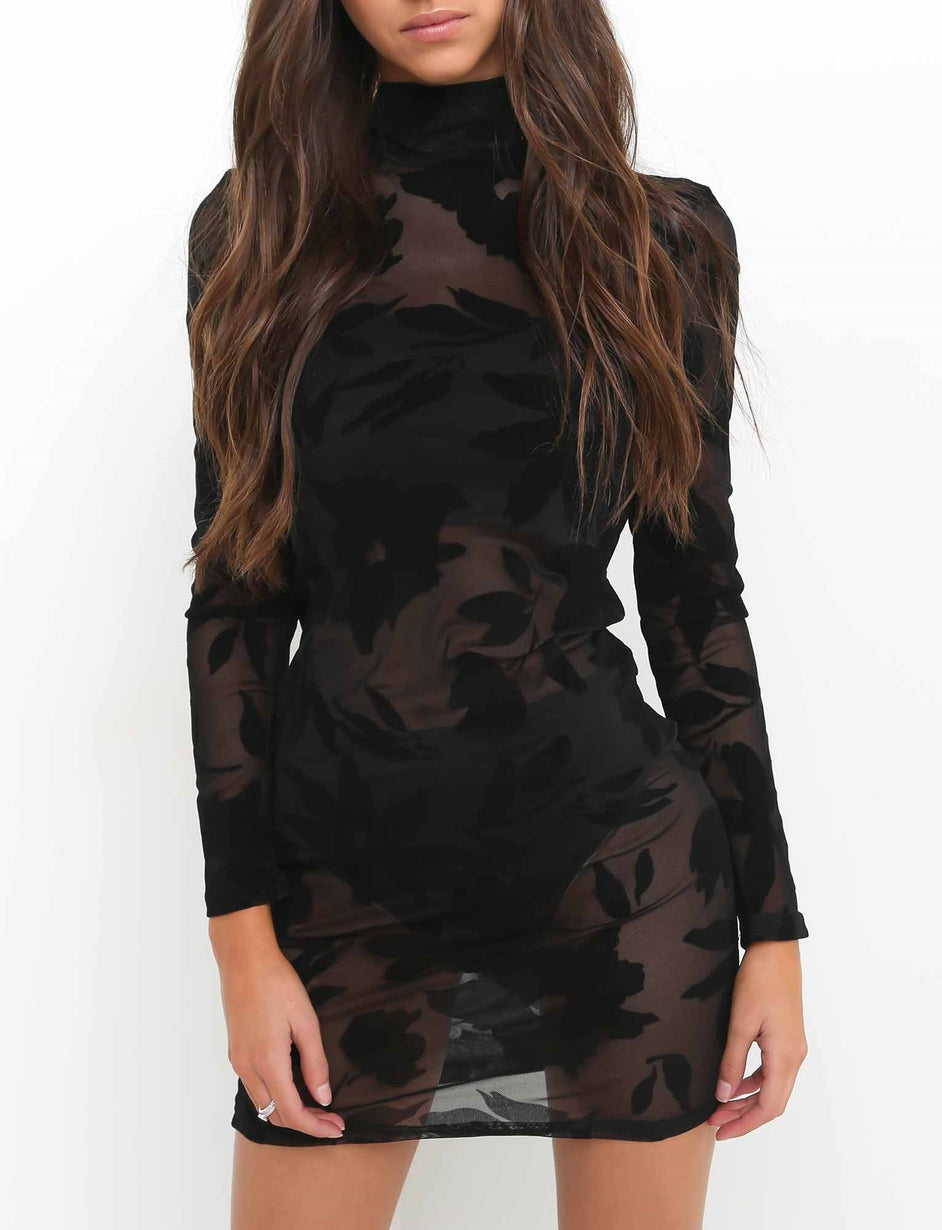 Spellbound Dress - Black