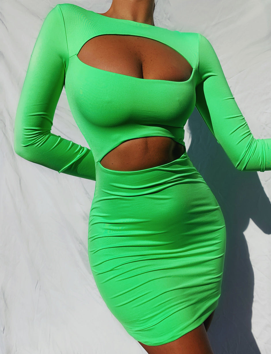 Terrain Dress - Green