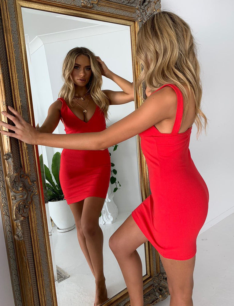 Nashville Dress - Red
