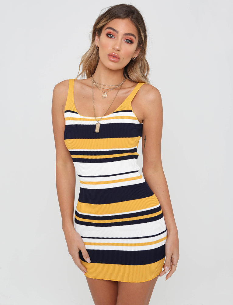 Sophia Dress - Yellow