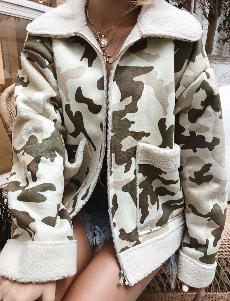 Achird Jacket - Green Camo