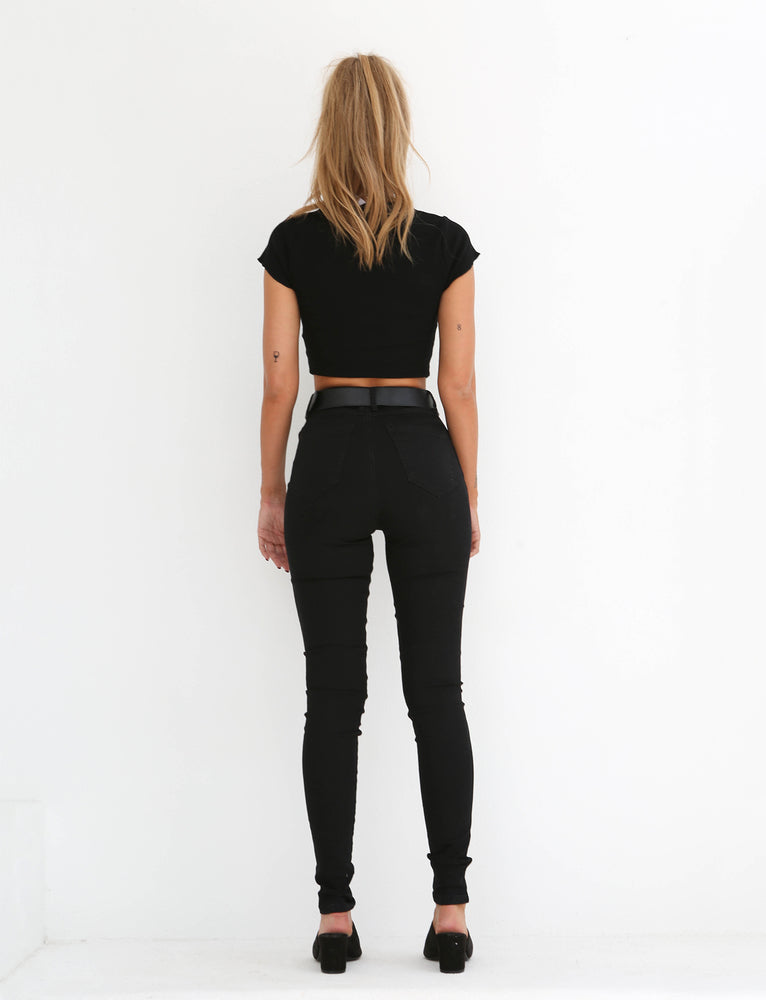 ROLLA JEANS - BLACK