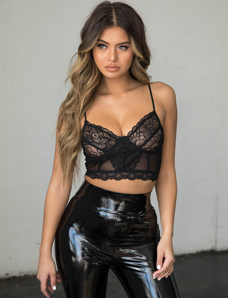 Lover Bralette - Black