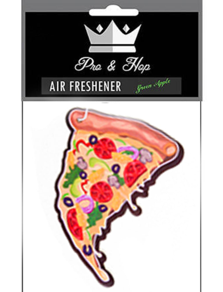 Pizza Air Freshener - Black