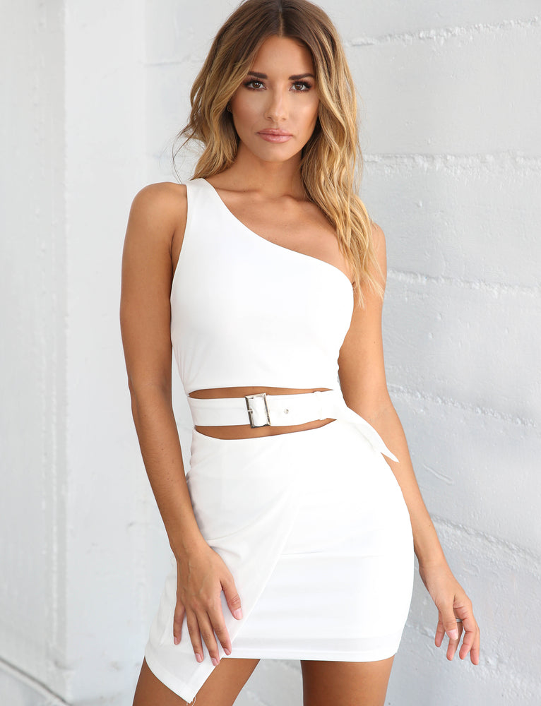 Kilmore Dress - White