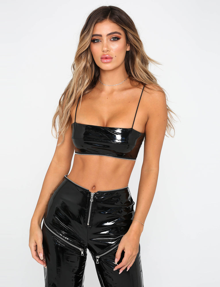 Isla Crop - Black