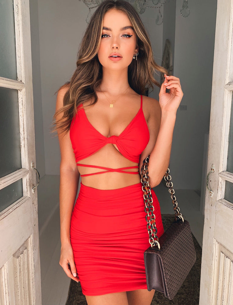 Lexus Dress - Red