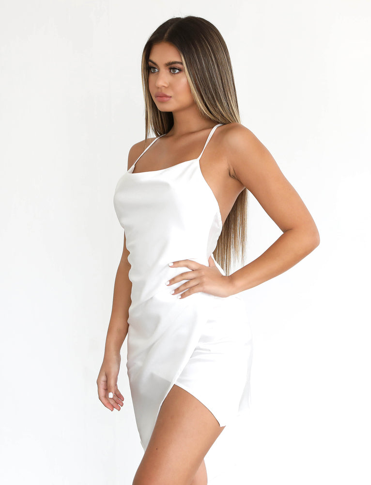 Britney Dress - White