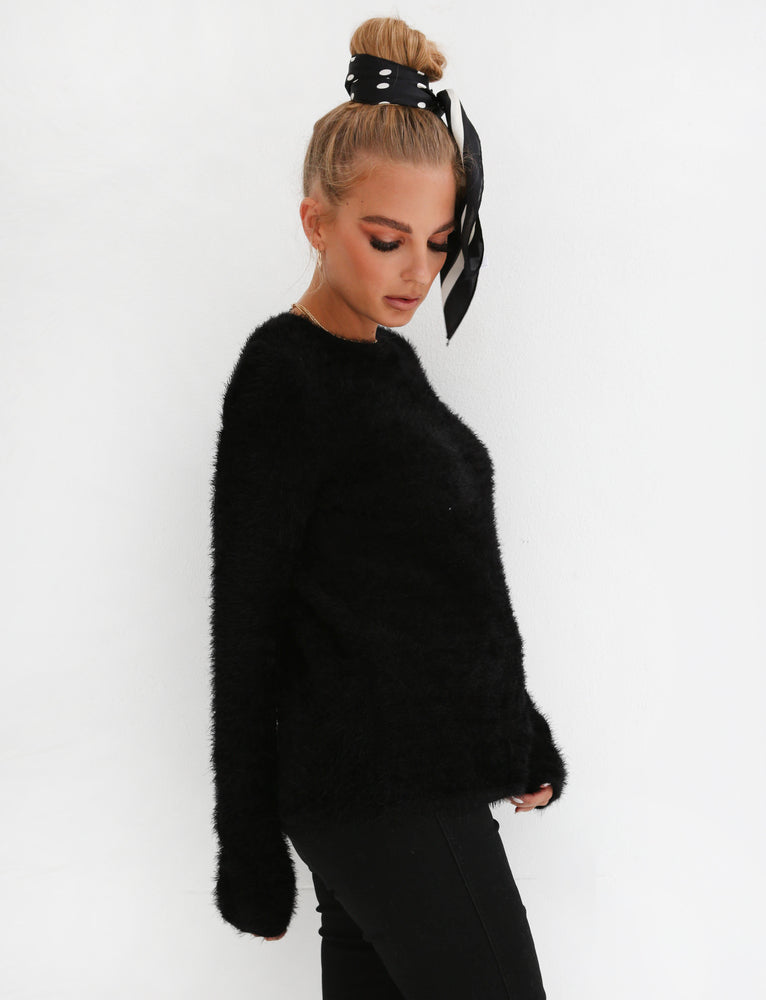 Zephyr Knit - Black