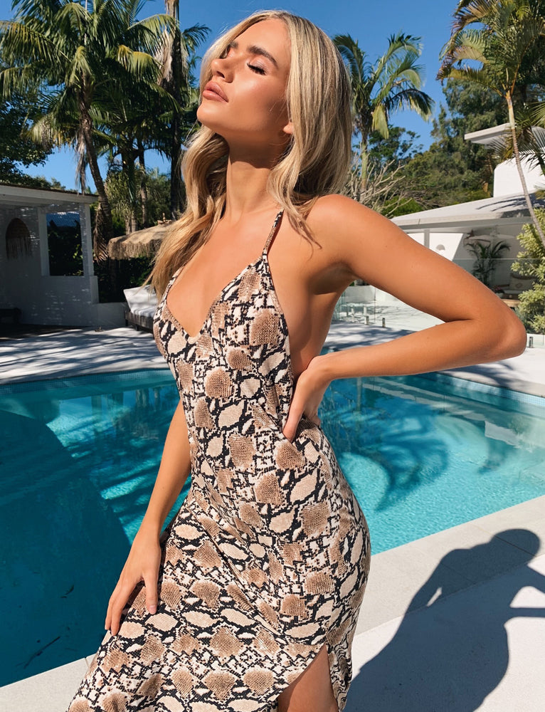 Hayden Dress - Snake