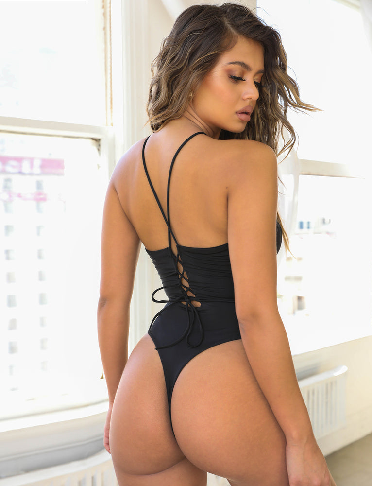 Athena Bodysuit - Black