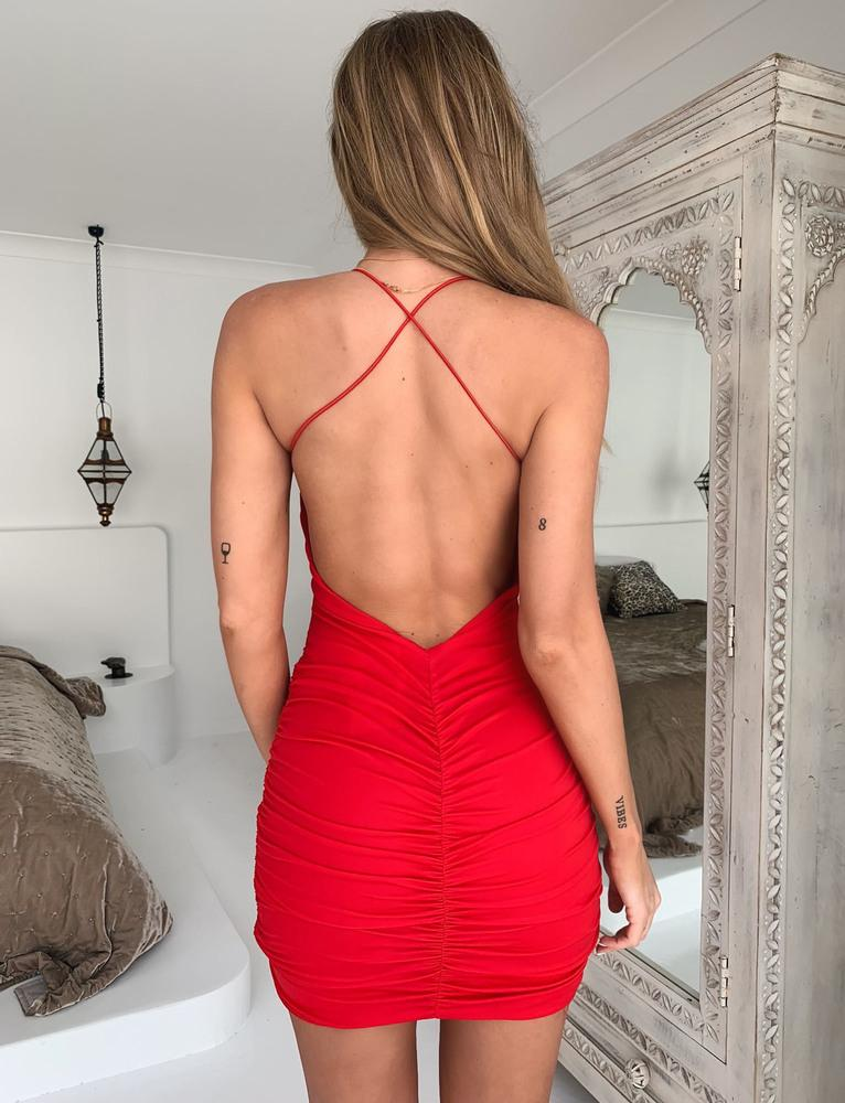 Reese Dress - Red