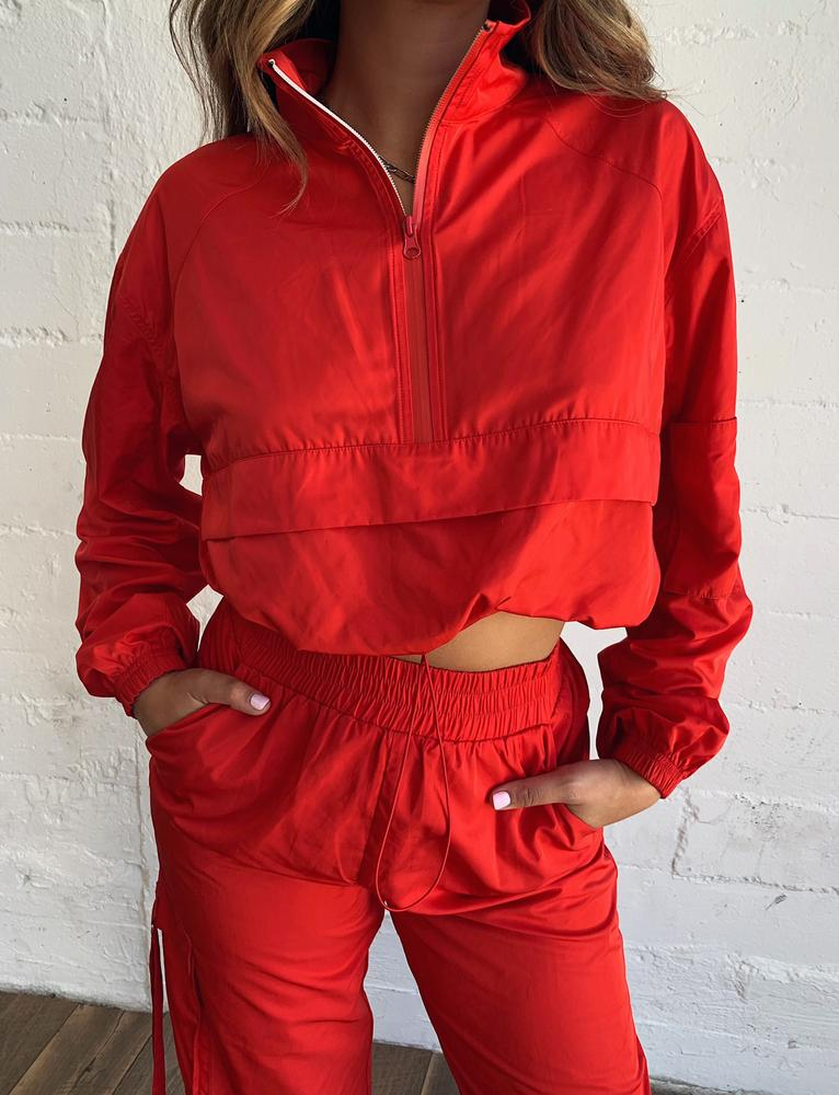 Floss Jacket - Red