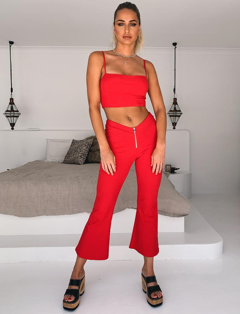 Rocas Pant - Red