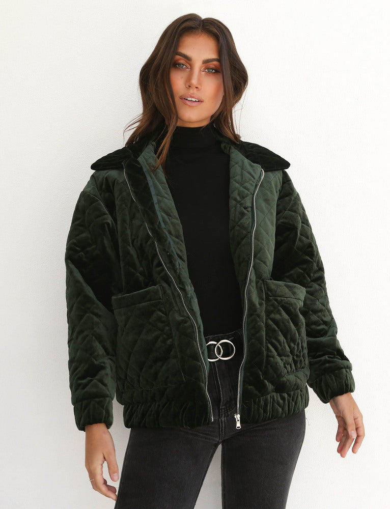Contraband Jacket  - Forest Green