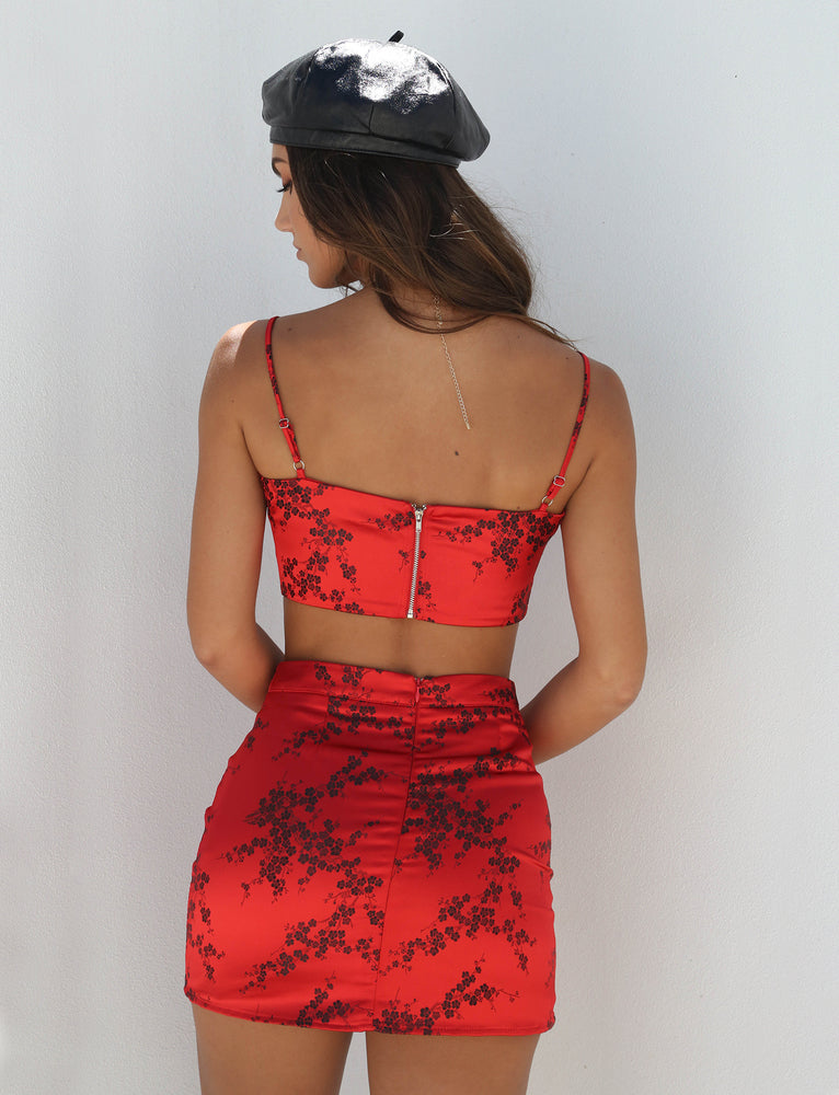 c4b569fa936d86 Buy Our Wilma Skirt in Red Oriental Online Today! - Tiger Mist