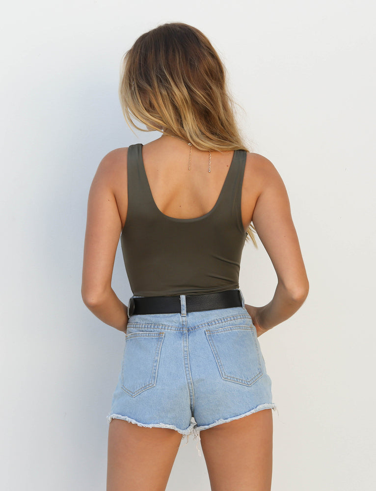 Everyday Bodysuit - Khaki