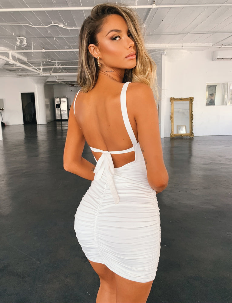 Kelso Dress - White
