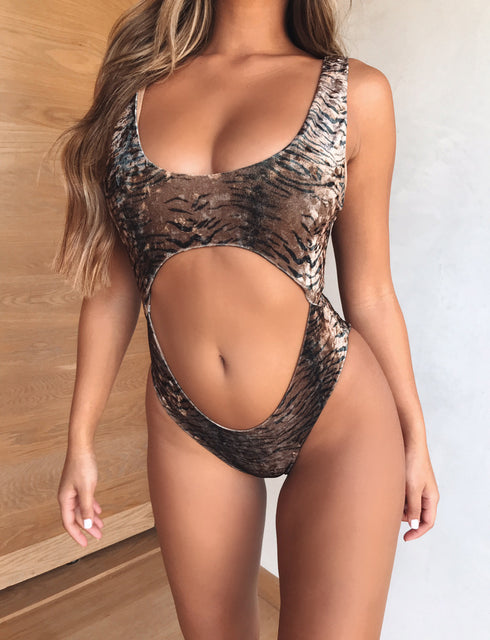 Nala Bodysuit - Tiger