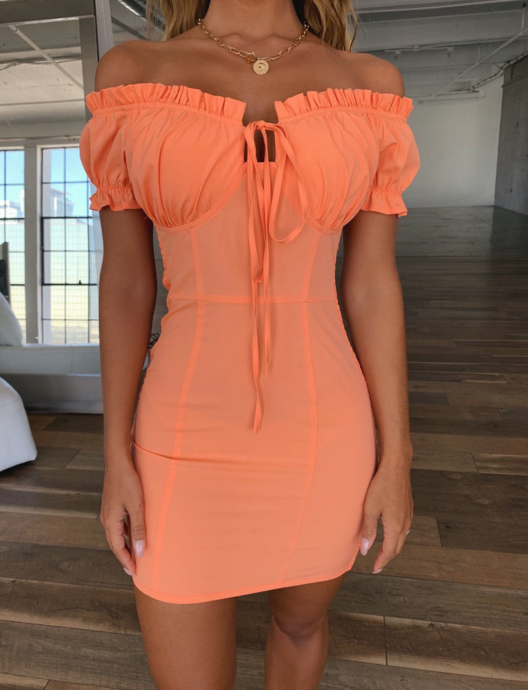 Grazie Dress - Orange