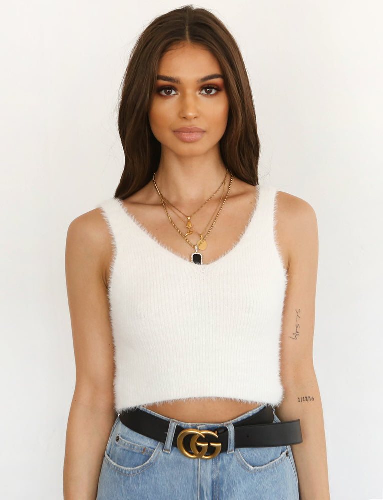 Evie Top - Cream