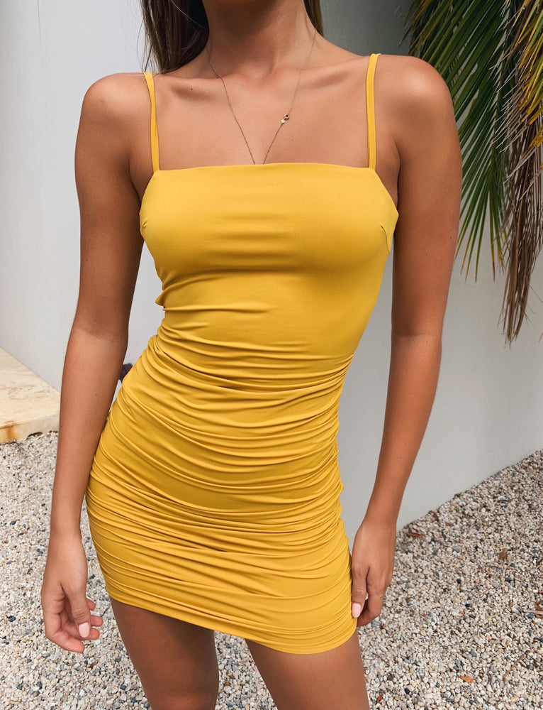 Sunrise Dress - Mustard