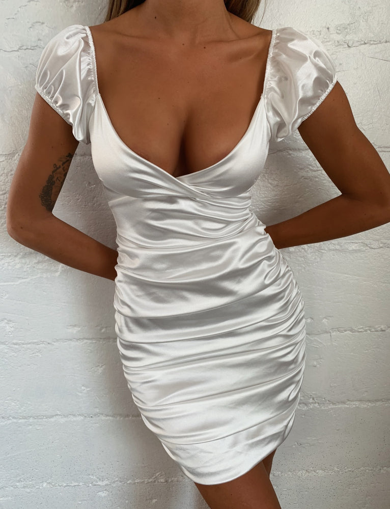 Dalton Dress - White