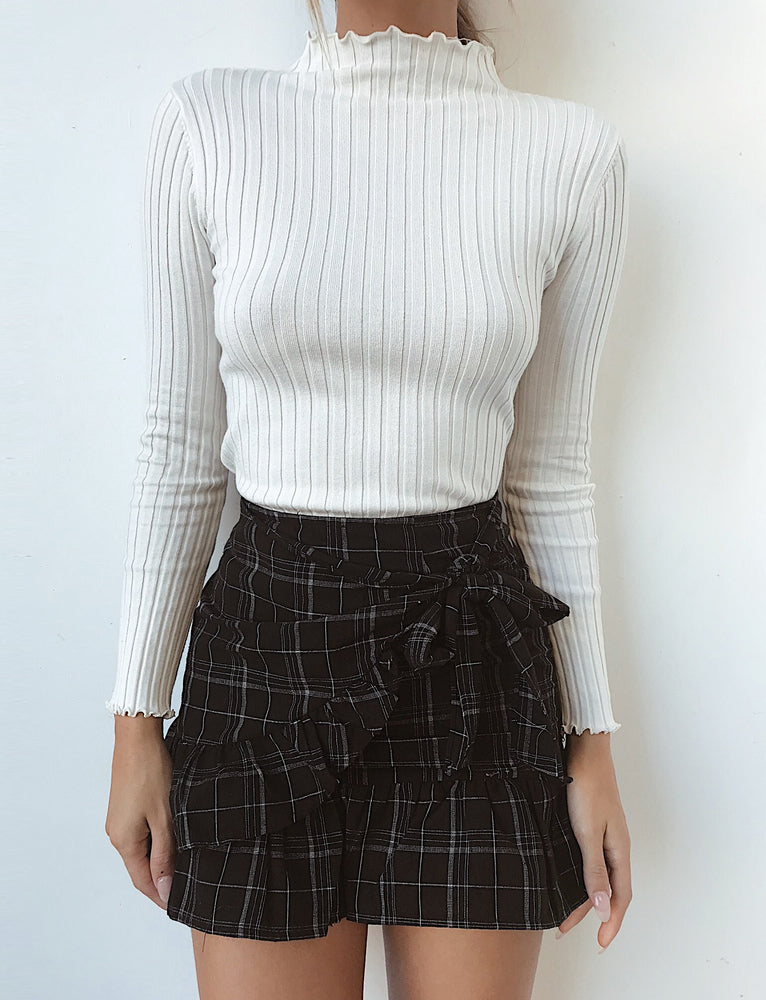 Illusion Jumper - White
