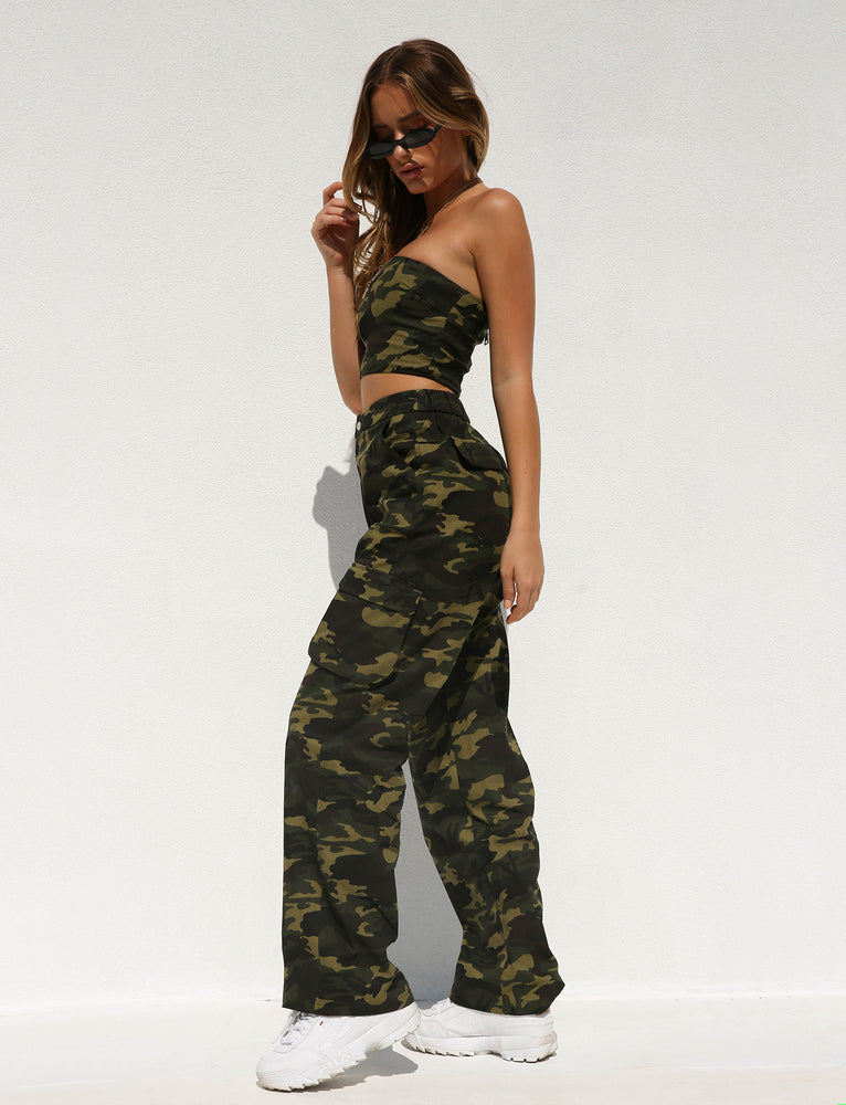 Keegan Pant - Green Camo