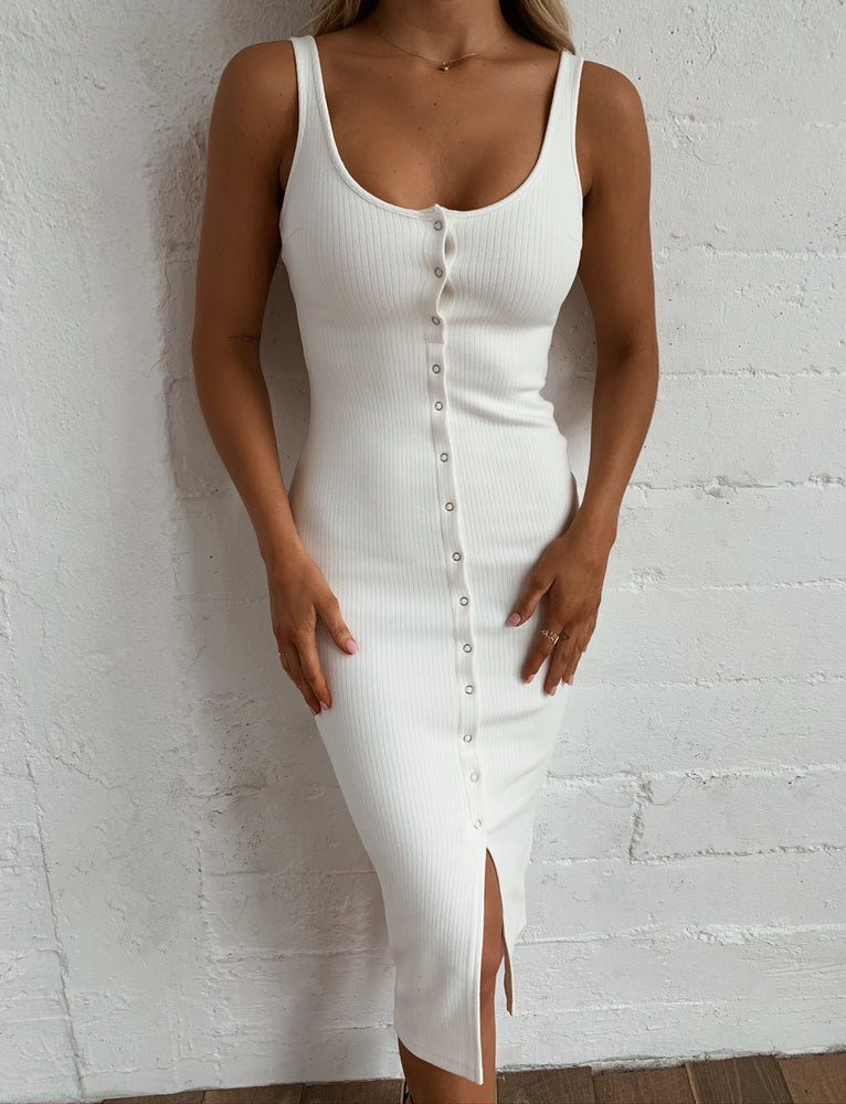 Verna Dress - White