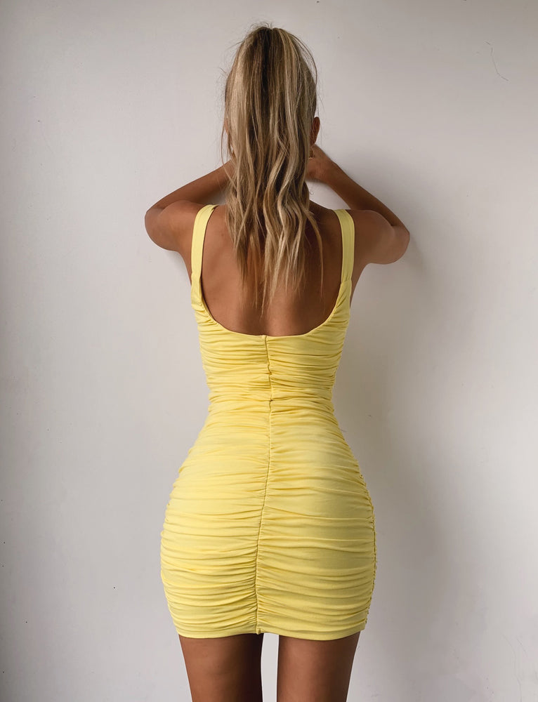 Luca Dress - Yellow