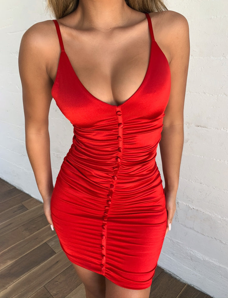 Angelo Dress - Red