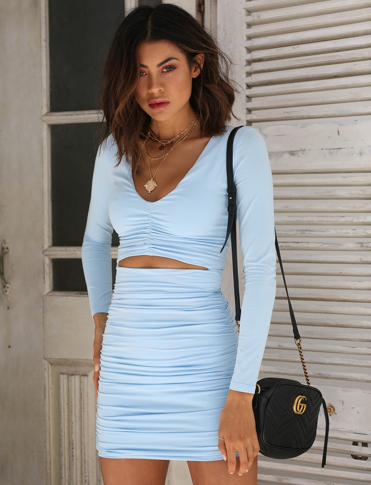 Sian Dress - Blue
