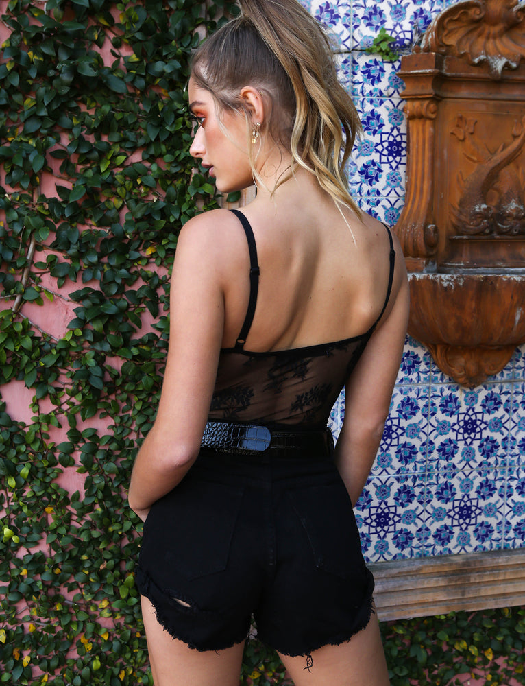 Mila Bodysuit - Black
