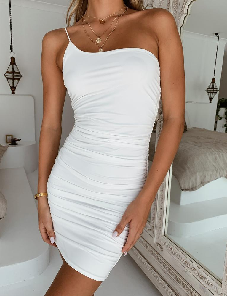 Iberis Dress - White