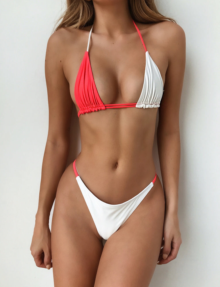 Buy Our Seychelles Bikini Top in Coral White Online Today! - Tiger Mist a230153af