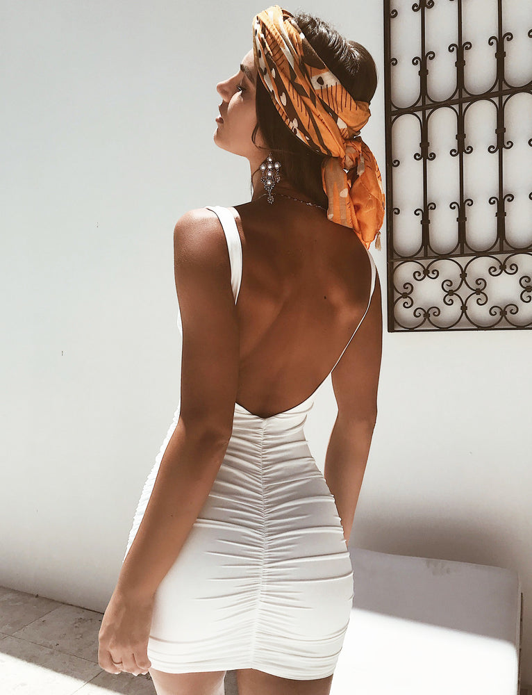 Stephanie Dress - White