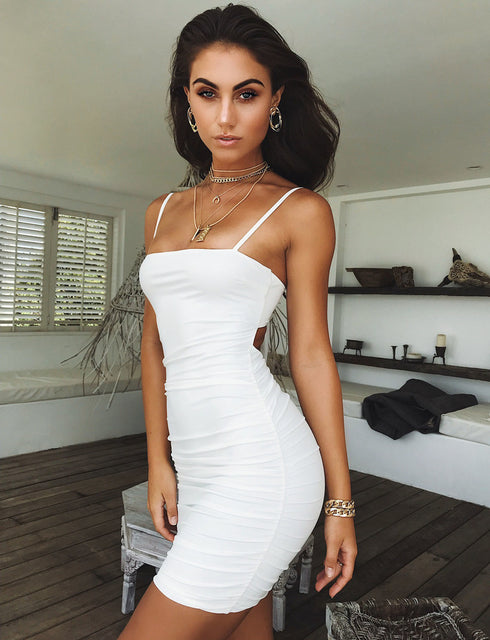Sunrise Dress - White
