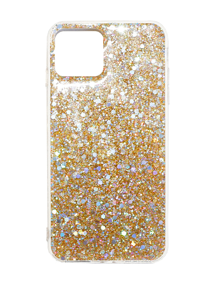 Iphone 11 Pro Plus Gold Glitter Phone Case - Gold