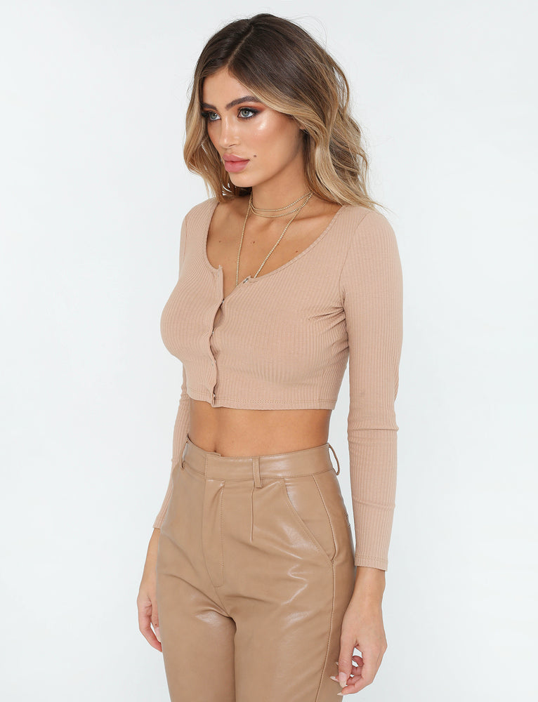 The Larsen Top - Brown