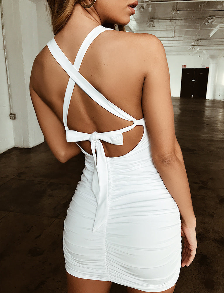 Kai Dress - White