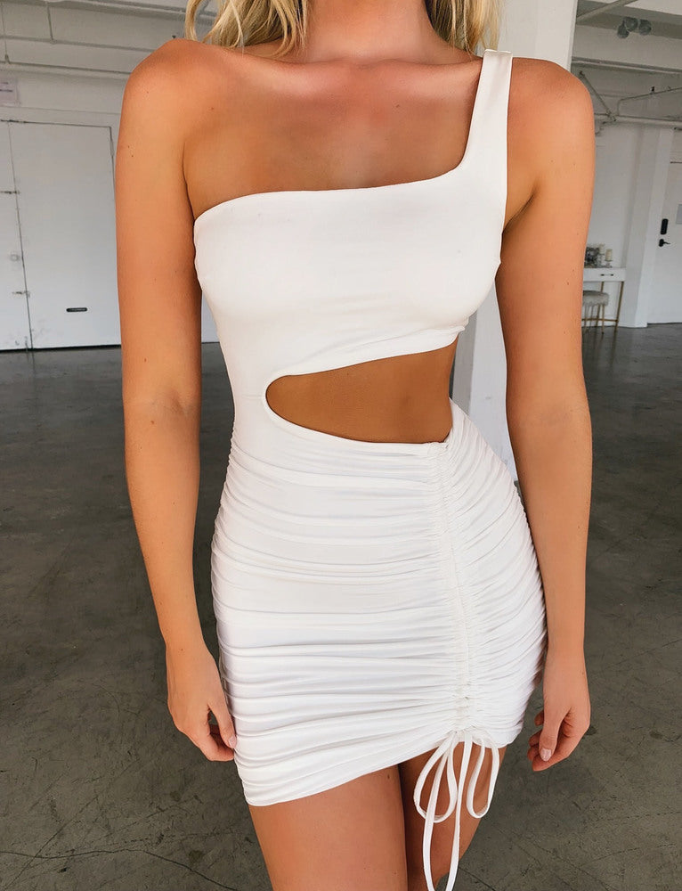 PAOLO DRESS - WHITE