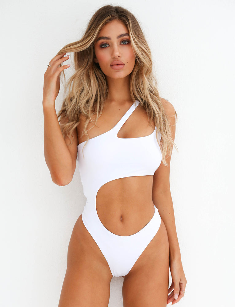 Saturn Bodysuit - White